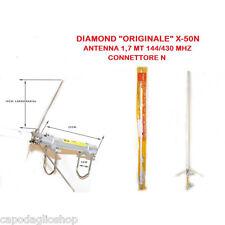 Diamond X-50N Antenna bibanda 144/430 MHz da base