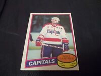 1980-81 OPC O-Pee-Chee #195 Mike Gartner Rookie Capitals - nrmt