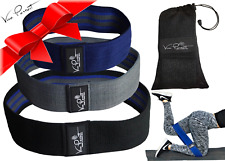 Resistance Bands~ #1 Best Hip Band - Fabric Resistance Bands to LIFT YOUR GLUTES
