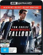 Mission Impossible 6 Fallout 4K Ultra HD + Blu-ray + Bonus Disc BRAND NEW