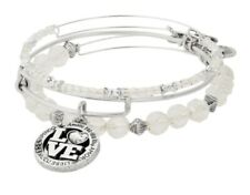 Alex and Ani Love Language Set of 3 Bangles MSRP $78