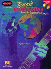 "MUSICIAN'S INSTITUTE ""BASIC BLUES GUITAR"" MUSIC BOOK/CD-PRIVATE LESSONS-NEW-SALE"