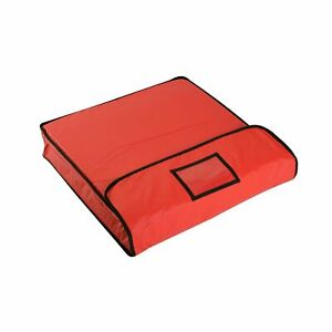 PizzaBag, Pizza-Liefertasche Thermo Transport Pizza 40x40x12 cm, rot