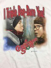 I TRIPLE DOG DARE YOU - A CHRISTMAS STORY - Movie T Shirt Size XLarge