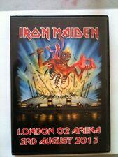 Iron Maiden Concert DVD London O2 Arena 1st Night Maiden England Tour PAL NTSC