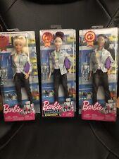 Barbie Robotics Engineer Doll 2018 Career of the Year  STEM Careers Set Of 3 NEW