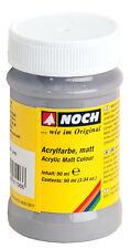 Noch 61196 color acrílico, mate, gris, contenido 90ml (100ml =