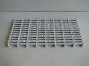 Non Slip Plastic Interlockable Drainage Bath Shower Pool Mat Panel - 500 x 250