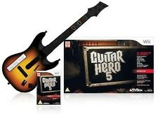 Guitar Hero World Tour Solo Guitar Pack Nintendo WII Video Game UK Release