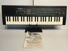 Casio Casiotone MT-140 Electronic Keyboard & Guide Working Vintage