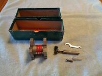 Vintage DuMar Minute Man Magnetic Base Machinist Tool Original Box