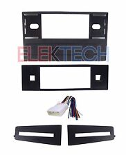Radio Replacement Dash Mounting Kit Single DIN w/Harness for Honda Acura
