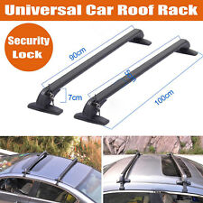 Adjustable Universal Aluminium Car Roof Rack Cross Bar  Sedan Luggage Carrier