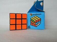 Vintage Rubik's Magic Cube First Edition Hungarian Politoys Rare + Box