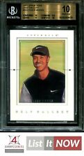 New listing 2001 UPPER DECK GOLF GALLERY #GG4 TIGER WOODS ROOKIE BGS 10 PRISTINE A3686-419