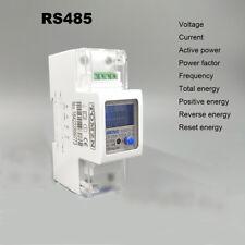 5(65)A 220V 230V 50Hz 60Hz voltage current energy meter with RS485 MODBUS-RUT
