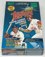 2000 Topps Series 2 Baseball Retail Blaster Box