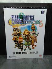 Guide Officiel PIGGYBACK - FINAL FANTASY Crystal Chronicles FR - Excellent