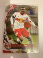 2014 TOPPS CHROME MLS   LLOYD SAM  NEW YORK RED BULLS