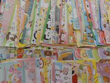 Lot 90 cute kawaii memo note paper stationery japanese crux q-lia kamio san-x