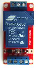 30A 5V Relay Module Optocoupler Hi/Lo for Arduino, Microcontroller, USA Shipping