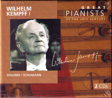 Wilhelm Kempff 1 Great Pianists of the 20th Century 2cd Brahms Schumann Arabeske