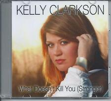 KELLY CLARKSON - What doesn't kill you (stronger) Promo CD Single 1TR 2012 RARE!