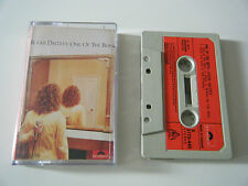 ROGER DALTREY ONE OF THE BOYS CASSETTE TAPE 1977 RED PAPER LABEL THE WHO POLYDOR