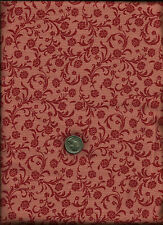 """""""Gramercy Park"""" Print rose on lt pinkish rose Fabric by Janet Orfini for P & B"""