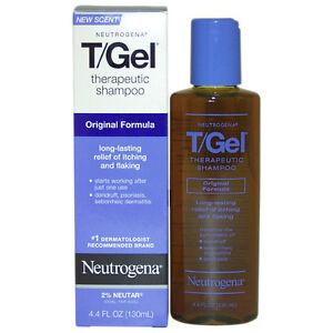 Neutrogena T/Gel Dandruff Shampoo, 4.4 oz. 1 Bottle new