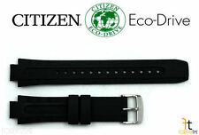 Citizen Eco-Drive E168-S061903 Original 14mm Black Rubber Watch Band S061890