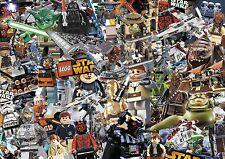 Lego Pegatina Hoja De Bomba-X1 @ 1 M x 1.5 M (Star Wars/Lego City/niños/Caricatura)