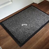 Home Small Large Rubber Door Barrier Mat NonSlip Heavy Duty Runners Kitchen Rugs