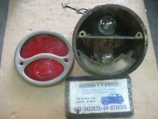 OLD HARLEY INDIAN FORD 28-31 Model T Tail Light Lamp Assembly Stop 2 Bulb Holder