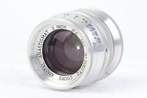Taylor Taylor & Hobson COOKE AMOTAL ANASTIGMAT 2 inch f/2 ELC lens for LTM #P172