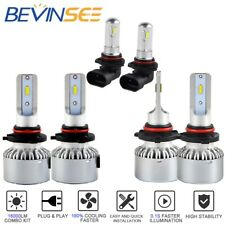 For Toyota Matrix 2003-2008 6x Combo 9005 9006 9006 LED Headlight Fog Light Bulb