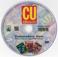 COMMODORE USER Magazine Collection on Disk ALL 78 ISSUES! (C64/AMIGA Games) CU