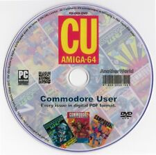 COMMODORE USER Magazine Collection on Disk ALL 78 ISSUES! C64/AMIGA/C16 Games CU