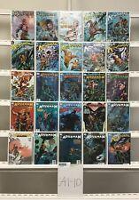 Aquaman Dc 25 Lot Comic Book Comics Set Run Collection Box1