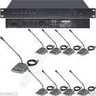 25 Desktop Wired Conference Meeting Microphone System 1 Chairman 24 Delegate Mic