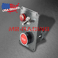 Racing Car 12V Ignition Switch Engine Start Push Button LED Toggle Panel ES03