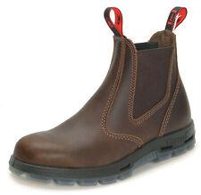Redback Work Boots Leder Stiefel Outdoor UBJK jarrah-brown - mit Schmunzelfehler