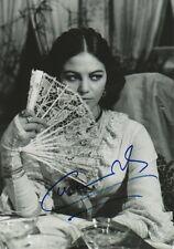 Claudia Cardinale Autogramm signed 20x30 cm Bild s/w