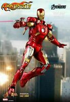 1:6 Diecast Hot Toys Exclusive MMS500D27 Avengers Iron Man Mark VII MK7 Doll Toy