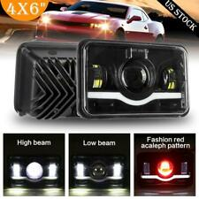 "4x6""inch 300W LED Headlights DRL High Low Black Sealed Beam Fit Chevrolet Camaro"