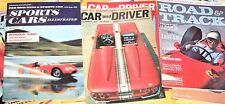 Lot of 70 Vintage Magazines Car&Driver Road&Track Sports Car 1950 1960