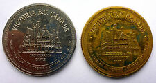"""UNLISTED CANADIAN TRADE DOLLAR #BC49 """"gold plated variety""""   VERY SCARCE VARIETY"""