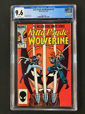 Kitty Pryde and Wolverine #5 CGC 9.6 (1985)