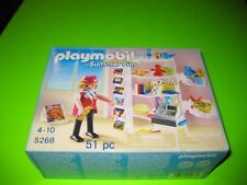 NEW NIB Playmobil 5268 HOtel Gift Shop with Attendant