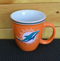 Officially Licensed Product of NFL Orange Miami Dolphins Team Coffee Mug